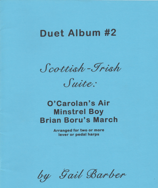 Duet Album #2 Scottish Irish Suite Barber G